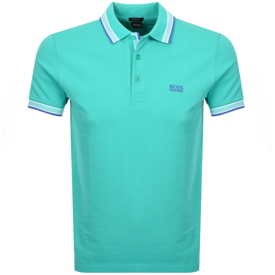 BOSS Athleisure Paddy Polo T Shirt Green
